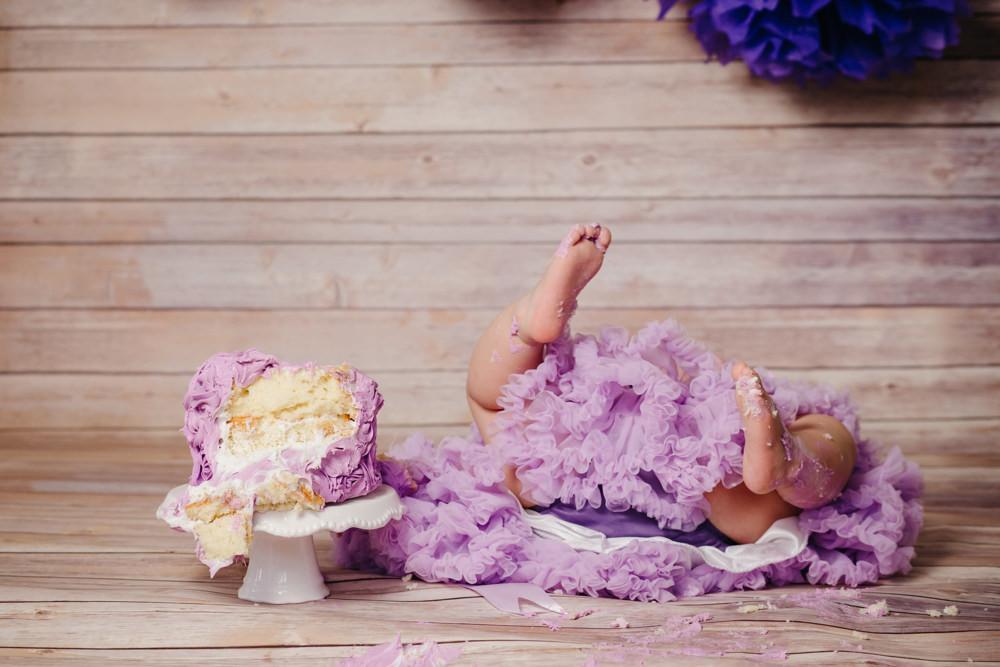 Josie's first birthday party - Houston Family Photographer