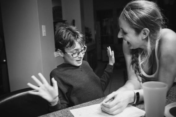 The Hansen family - Houston family documentary photographer